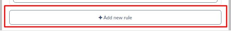 Añadir nueva regla a la campaña