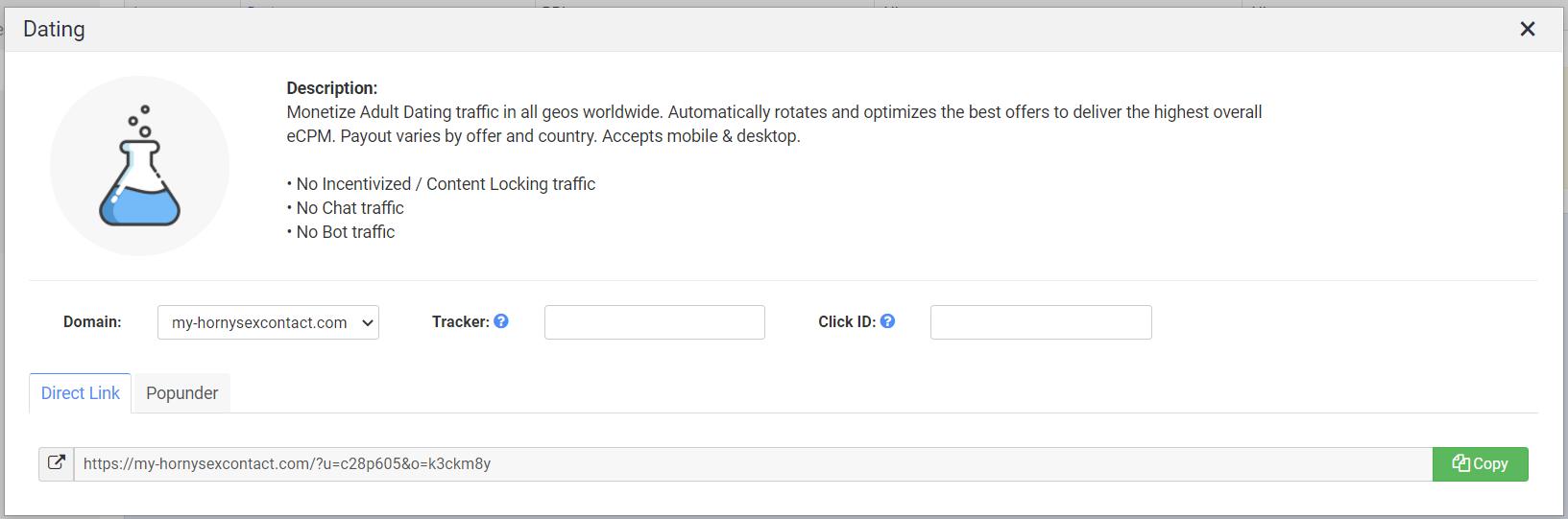 configurando un smartlink